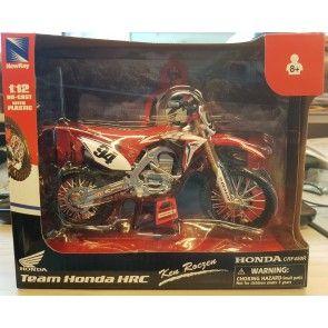 Miniatur 1:12 Spielzeug Motorrad HRC Honda CRF 450 #94 Ken Roczen