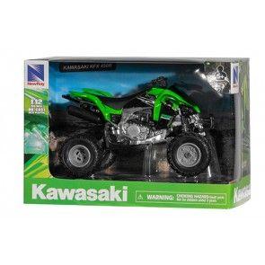 Miniatur 1:12 Kawasaki KFX 450 R Quad Kinder Spielzeug