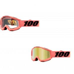100% Accuri Brille Rogen Rosa Klar / Verspiegelt