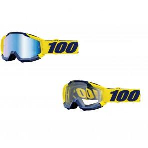 100% Accuri Brille Supply Klar / Verspiegelt