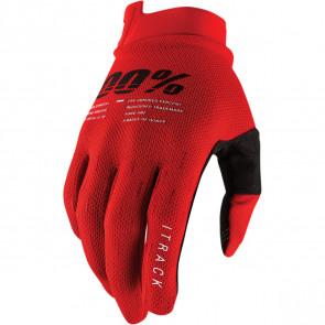 100% Handschuhe I-Track Rot