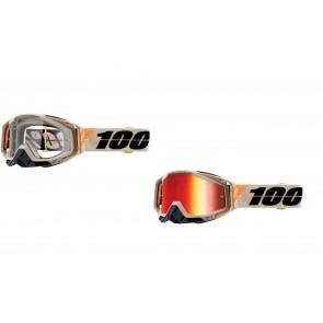 100% Racecraft Brille Poliet Klar / Verspiegelt