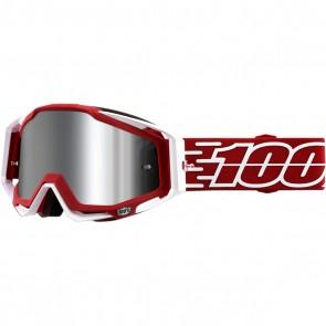 100% Racecraft Brille Gustavia, Silber verspiegelt