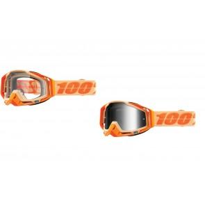 100% Racecraft Brille Sahara Klar / Verspiegelt