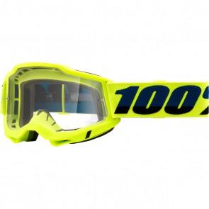 100% Brille Accuri 2 Gelb OTG für Brillenträger