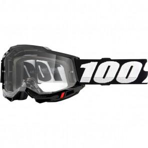 100% Brille Accuri 2 Super Black OTG für Brillenträger