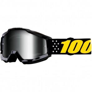 100% Accuri Brille Pistol Silber Verspiegelt