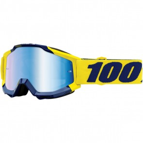100% Accuri Brille Supply Blau Verspiegelt