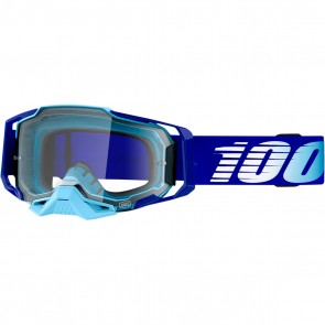 100% Armega Brille Royal Blau Klares Glas