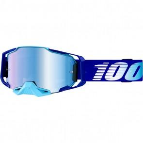 100% Armega Brille Royal Verspiegelt Blau