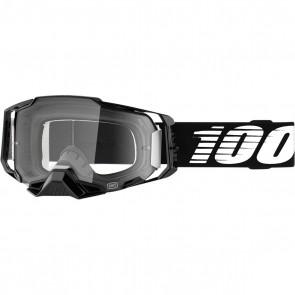 100% Armega Brille Schwarz Klares Glas