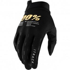 100% Handschuhe I-Track Schwarz