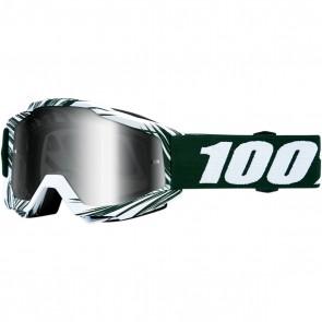 100% Accuri Brille Bali Silber Verspiegelt