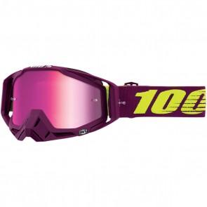 100% Racecraft Brille Klepto, Pink verspiegelt