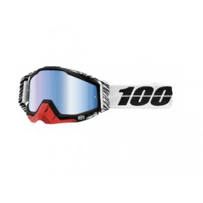 100% Racecraft Brille Zoolander, Blau verspiegelt