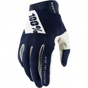 100% Ridefit Handschuhe Navy White