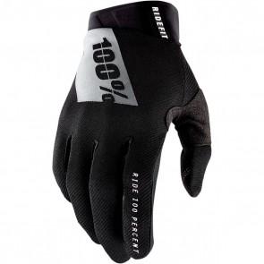 100% Ridefit Handschuhe Schwarz