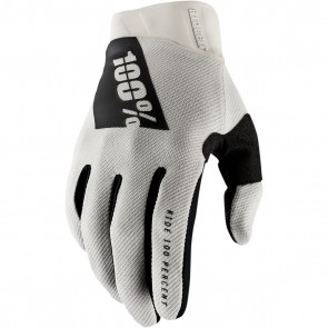 100% Ridefit Handschuhe Stone Grau