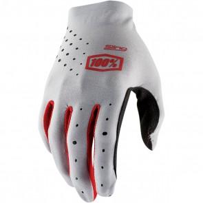 100% Handschuhe Sling Grau Rot