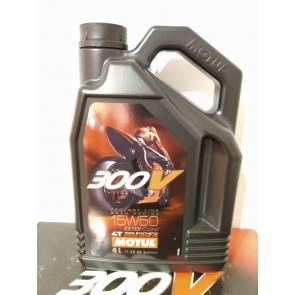 4 Liter Kanister Motul 300V 15W50 Factory Line Road Racing 1L