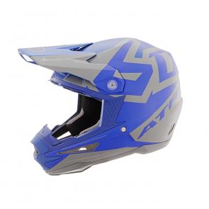 6D Helm ATR-1 Grau - Blau