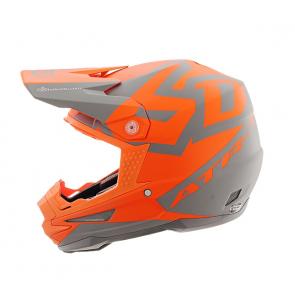 6D Helm ATR-1 Grau - Orange