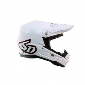 6D Helm ATR-1 Gloss White