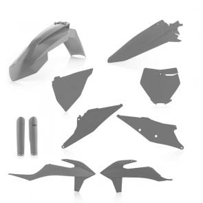 Acerbis Full Plastik Kit Grau KTM SX, SXF 125, 150, 250, 350, 450 2019-