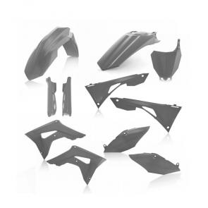 Acerbis Full Plastik Kit Grau Honda CRF 450 2019-