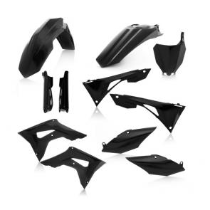 Acerbis Full Plastik Kit Schwarz Honda CRF 450 2019-