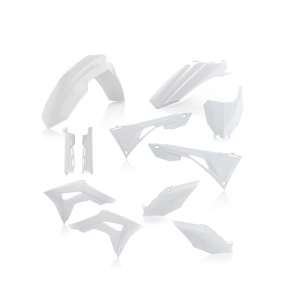 Acerbis Full Plastik Kit Weiß Honda CRF 450 2019-