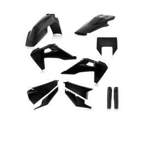 Acerbis Full Plastik Kit KOMPLETT Schwarz Husqvarna FE TE TX 125 250 350 450 501 2020-