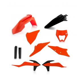 Acerbis Full Plastik Kit OEM 2020 KTM EXC EXC-F TPI 125, 150, 250, 300, 350, 450, 500 2020-