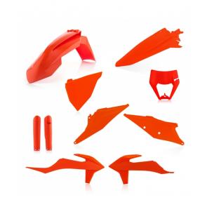 Acerbis Full Plastik Kit Orange KTM EXC EXC-F TPI 125, 150, 250, 300, 350, 450, 500 2020-