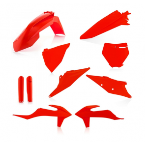 Acerbis Full Plastik Kit Neon Orange KTM SX, SXF 125, 150, 250, 350, 450 2019-