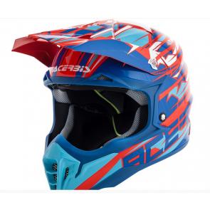 Acerbis Impact 3.0 Helm Rot/Blau