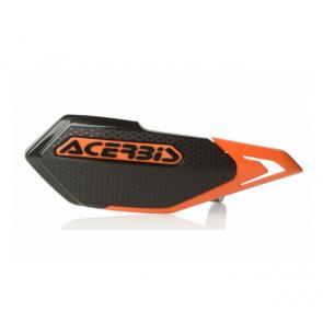 Acerbis X-Elite Handschützer Schwarz - Orange für MTB, E-Bike und Minibike