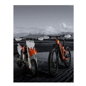 Acerbis X-Elite Handschützer Weiß für MTB, E-Bike und Minibike