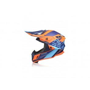 Acerbis X-TRACK VTR Helm Blau - Orange