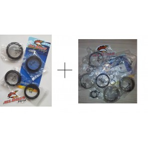All Balls Gabel Revisionskit Gabeldichtsatz + Reparatur Kit Kawasaki KX 85, 125, 250, 500
