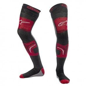 Alpinestars Knee Brace Socken Rot/Schwarz