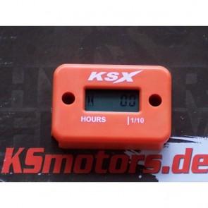 KSX Betriebsstundenzähler KTM Orange
