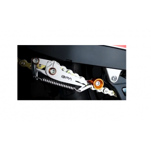 Motorrad Kettenspanner Tool Orange / Blau
