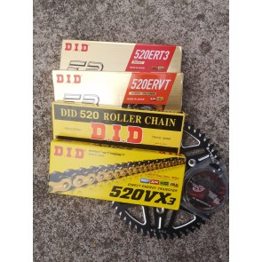 DID ERT3 / ERVT/ VX3 / 520S Kettenkit Honda CR, CRF 125, 250, 450