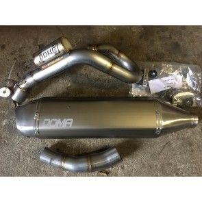 Doma Auspuffanlage Komplett KTM SXF 250 / Husqvarna FC 250 2019-