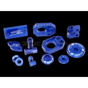Factory Aluminium Teile Blau Husqvarna TC, TE 125 2014- / FC 250, 350, 450 2016- / FE, TE 2017-