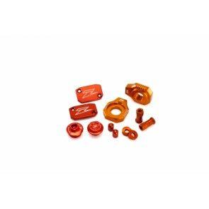 Factory Aluminium Teile Orange KTM SX, EXC 250, 300 2006-2013 / SXF 250, 350 2007-2013 / EXC-F SX-F 450