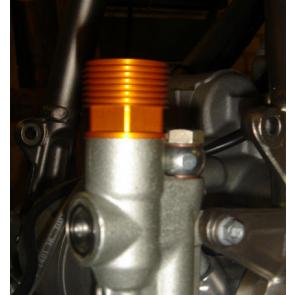 Fußbremszylinder Vergrößerung KTM Orange