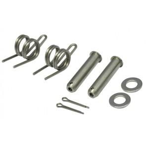 Fußrasten Bolzen + Feder Kit Honda CRF 110F, CRF125F, CRF230F, CRF250F, CRF 150L