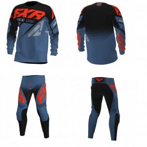 FXR Clutch Combo (Hose + Shirt) Black Slate Nuke
